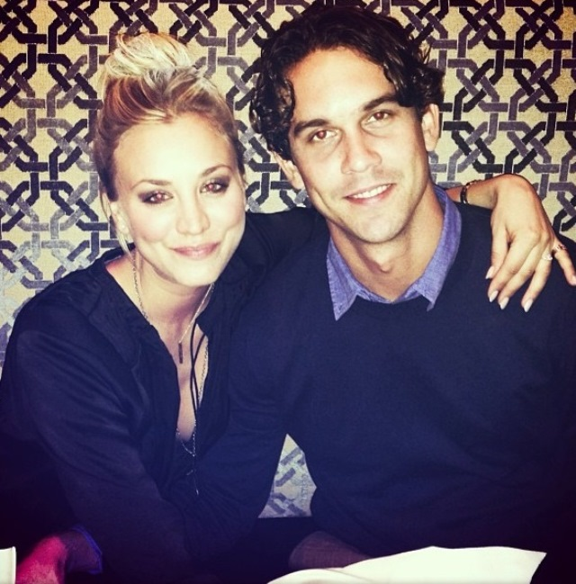 Instagram Photo Kaley Cuoco and Ryan Sweeting