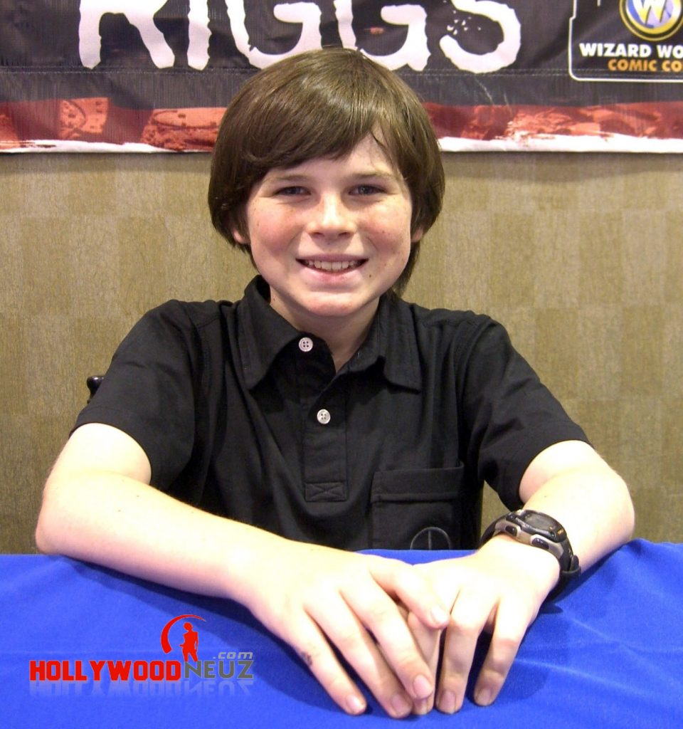 actor, bio, biography, celebrity, girlfriend, hollywood, Chandler Riggs, male, profile, wife