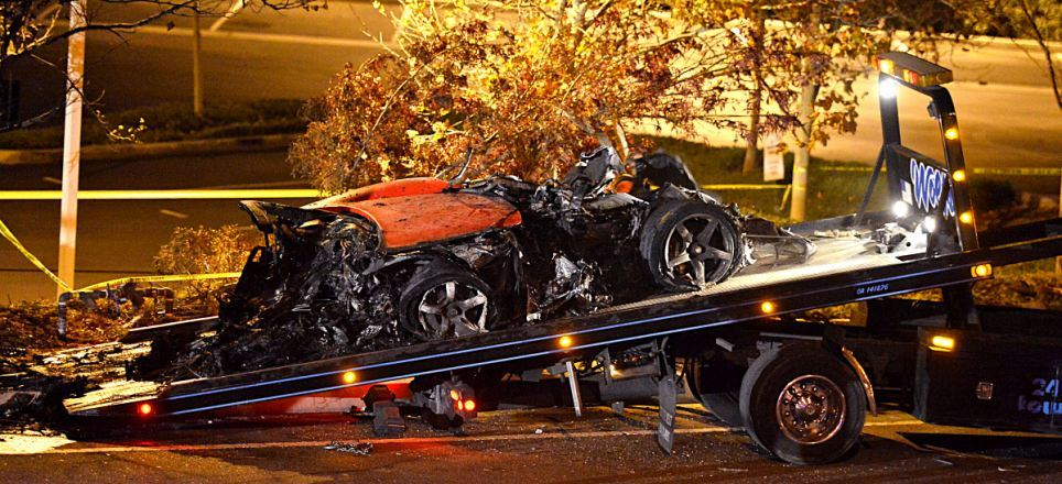 Paul Walker Car Crash Accident