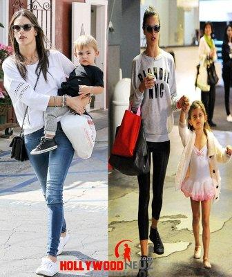hollywood gossip, hollywood latest news, hollywood news, hollywood news today, Alessandra Ambrosio, looked, perfect, stepped out, son