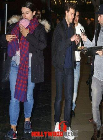 hollywood gossip, hollywood latest news, hollywood news, hollywood news today, Jamie Dornan, wife, Amelia Warner, jets out, Canada, baby