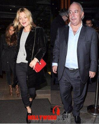 hollywood gossip, hollywood latest news, hollywood news, hollywood news today, Kate Moss, dines out, Sir Philip, Chloe Green
