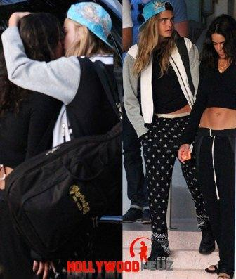 hollywood gossip, hollywood latest news, hollywood news, hollywood news today, Cara Delevingne, Michelle Rodriguez, Cara Delevingne and enjoyed, one more, kiss