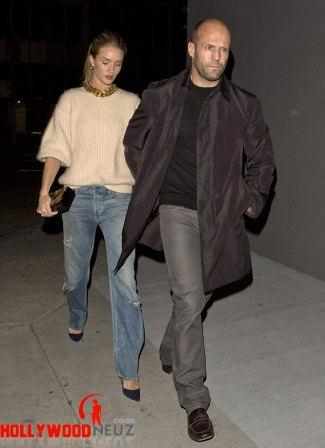 hollywood gossip, hollywood latest news, hollywood news, hollywood news today, Jason Statham, Rosie Huntington-Whiteley, enjoyed, date night