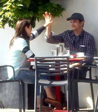 hollywood gossip, hollywood latest news, hollywood news, hollywood news today, Mila Kunis, Ashton Kutcher, enjoyed, lunch date