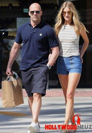 hollywood gossip, hollywood latest news, hollywood news, hollywood news today, Rosie Huntington-Whiteley, Jason Statham, enjoyed, shopping
