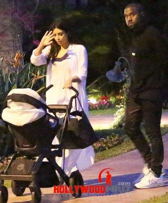 hollywood gossip, hollywood latest news, hollywood news, hollywood news today, Kim Kardashian, Kanye West, enjoyed, romantic stroll, North