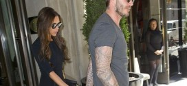 hollywood gossip, hollywood latest news, hollywood news, hollywood news today, David Beckham, Victoria Beckham, walked, hand in hand, headed, lunch