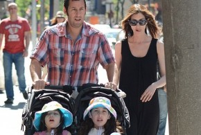 hollywood gossip, hollywood latest news, hollywood news, hollywood news today, Adam Sandler, enjoy, relaxed, Father's Day, daughters