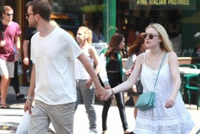 hollywood gossip, hollywood latest news, hollywood news, hollywood news today, Dakota Fanning, Jamie Strachan, enjoyed, holding-hand, stroll