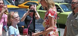 hollywood gossip, hollywood latest news, hollywood news, hollywood news today, Taylor Swift, stepped out, NYC, bright red, floral dress