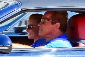 hollywood gossip, hollywood latest news, hollywood news, hollywood news today, Arnold Schwarzenegger, girlfriend, Heather Milligan, romantic, drive, LA