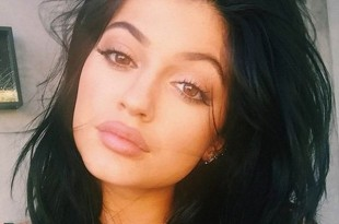 Kylie Jenner makes her singing debut in a rap track which is made by Burberry perry