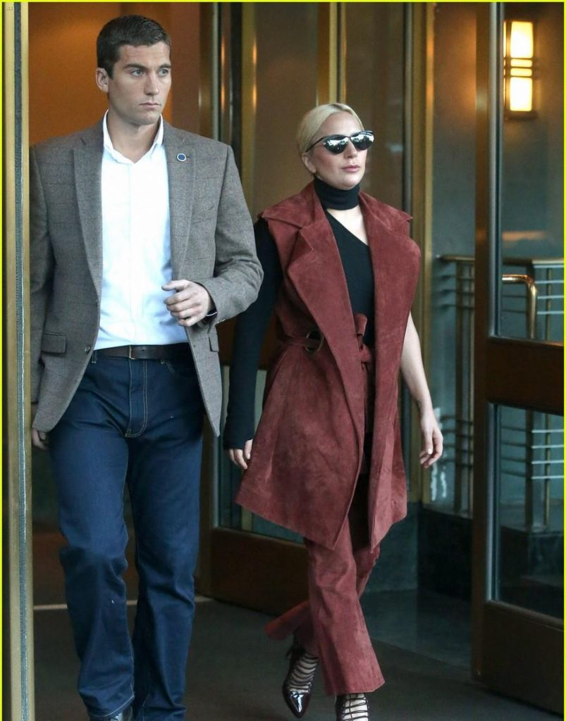 lady gaga checked out a hotel in new york