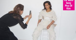 Kim Kardashian New Photoshoot For 'Vogue Australia' After Baby