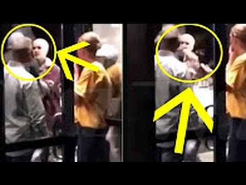 Justin Bieber Fights With A Stranger , And he said that he will take him to court